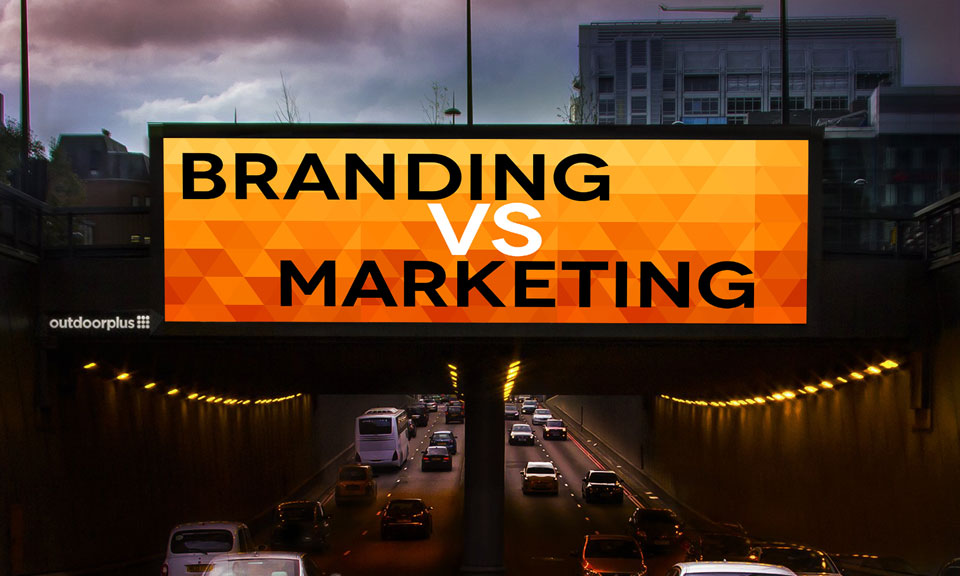 Where Marketing Ends, Branding Begins